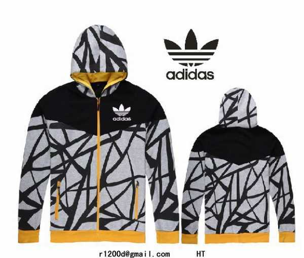 Uf5ws A Adidas Capuche Blanc Noir Sweat Et wC6q6xF7na